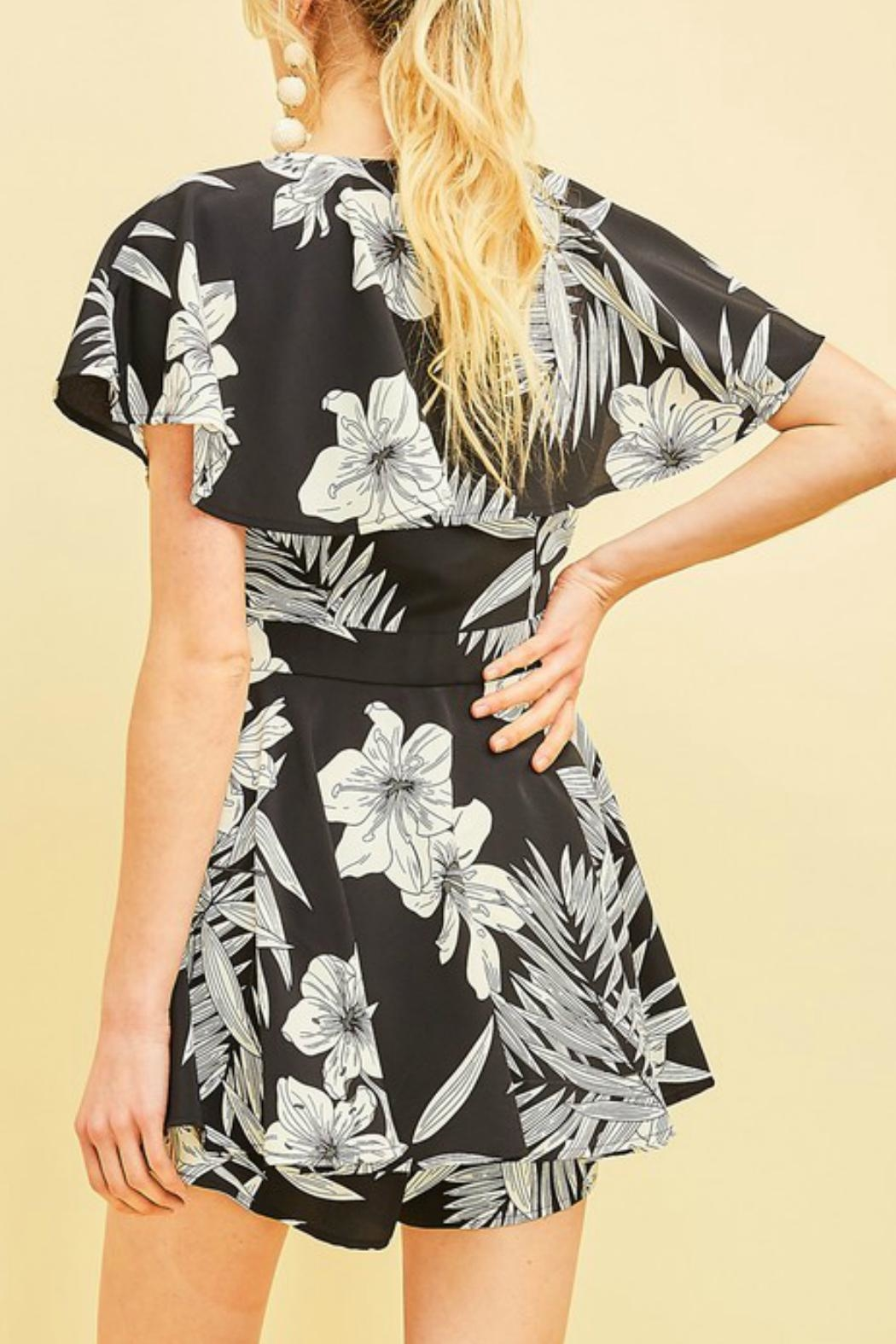 Entro The Danielle Romper - Back Cropped Image