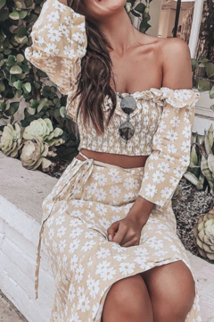 C+D+M The Day We Met Floral Crop Top - Product List Image