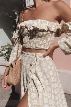 C+D+M The Day We Met Floral Midi Skirt - Product List Image