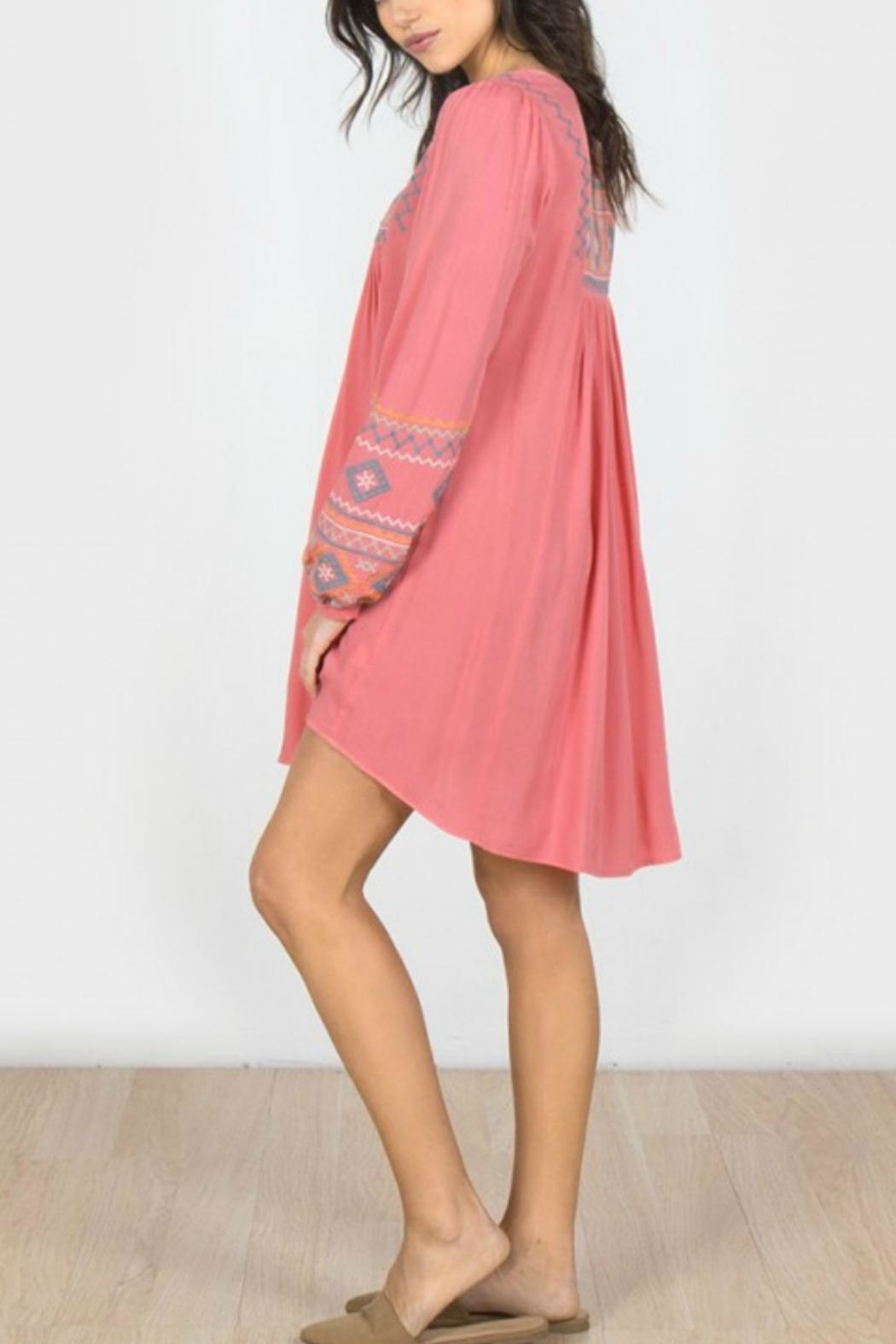 Monoreno The Denise Dress - Side Cropped Image