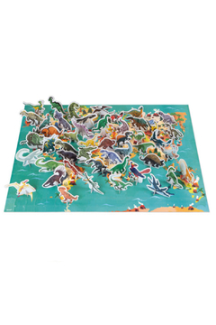 Janod The Dinosaurs 200 Pc Puzzle - Alternate List Image