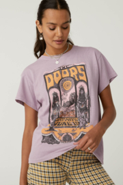 Daydreamer  The Doors Concert Poster Tour Tee - Front cropped