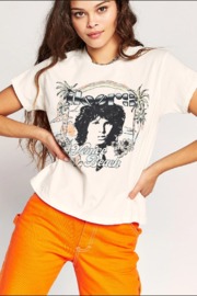 Daydreamer  The Doors Venice Beach Girlfriend Tee - Product Mini Image