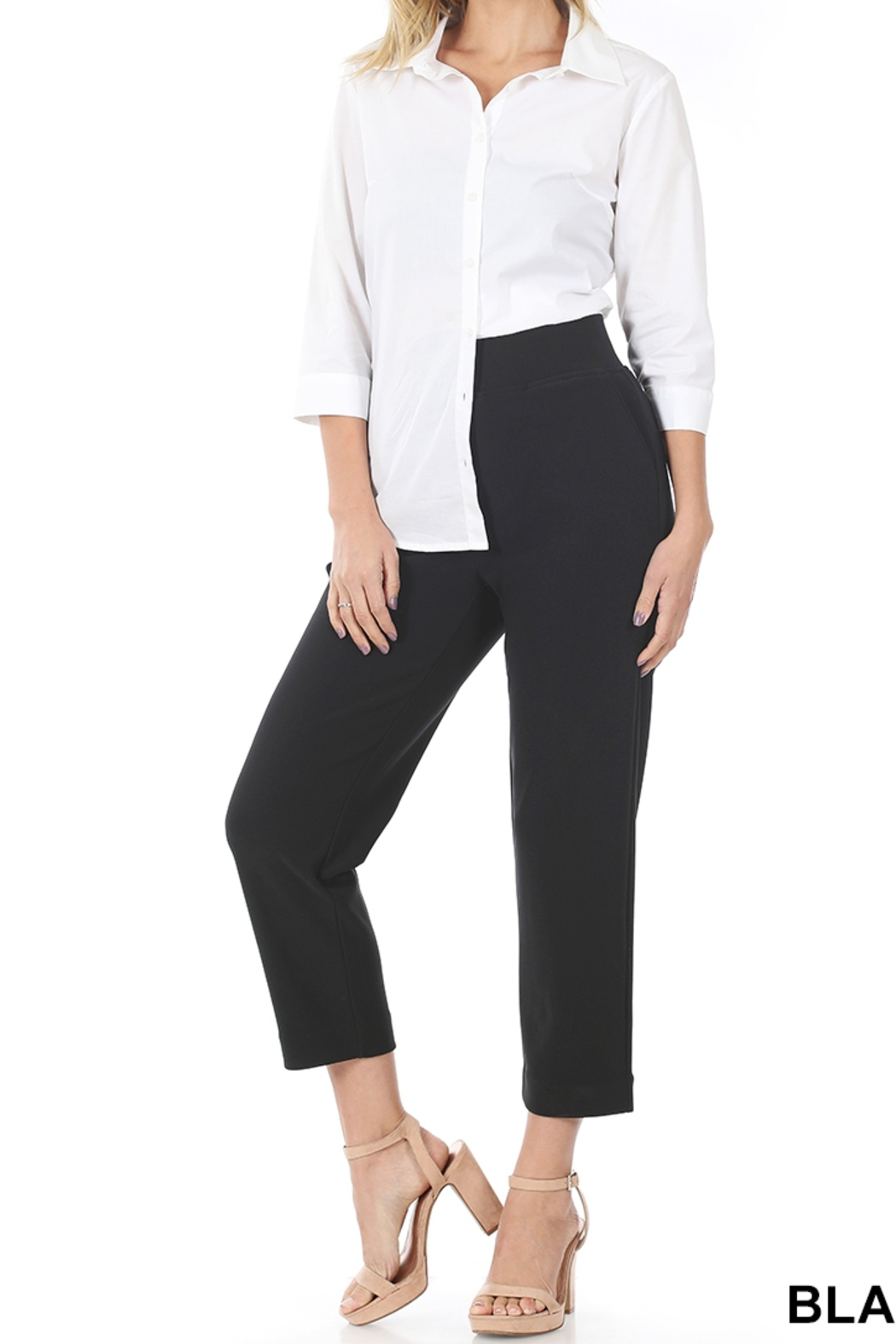 Lyn-Maree's  THE Dress Pants - Side Cropped Image