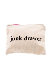 The Editor Junk Drawer Zipper Bag - Product Mini Image
