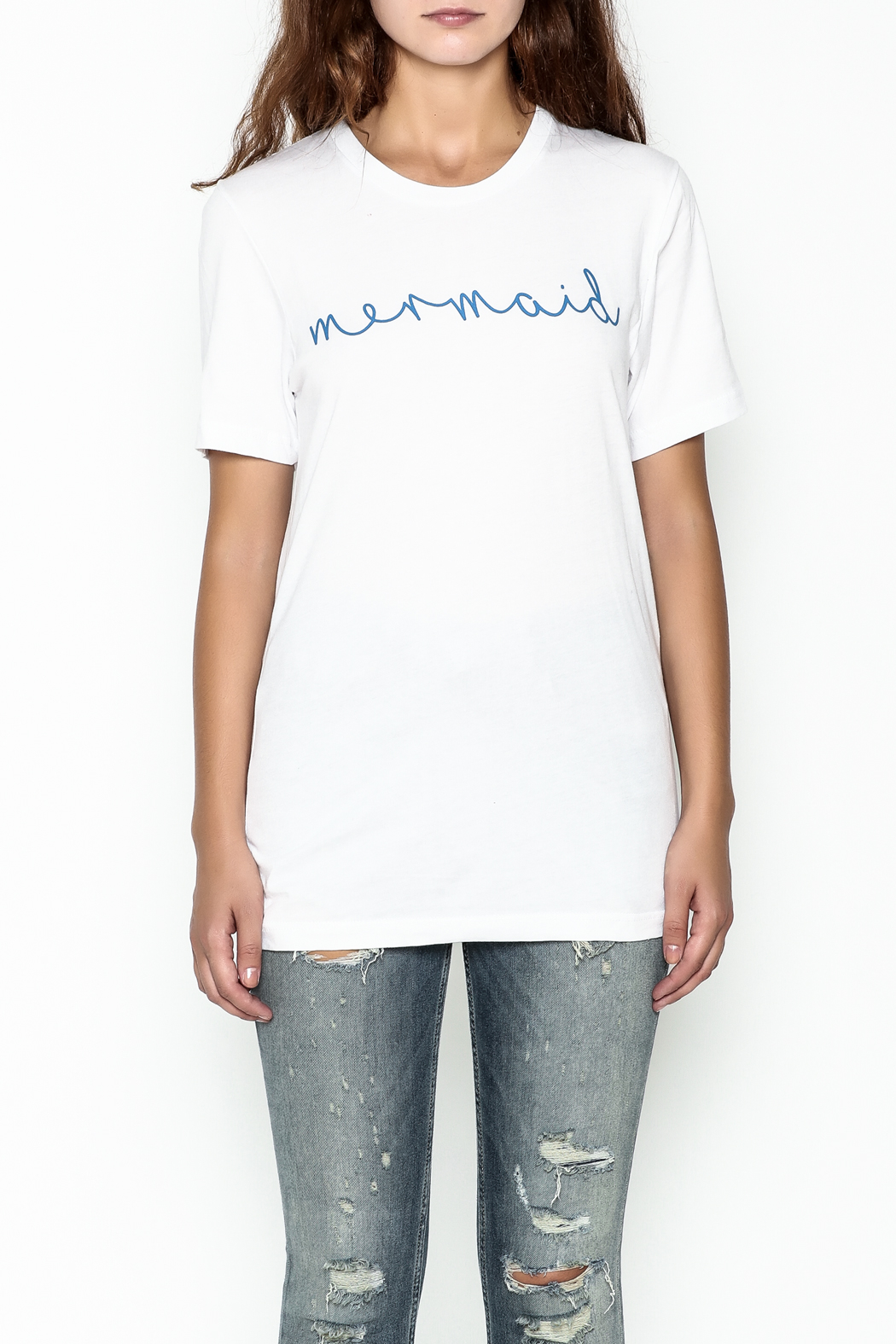 The Editor Mermaid Tee - Front Full Image
