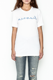 The Editor Mermaid Tee - Front full body