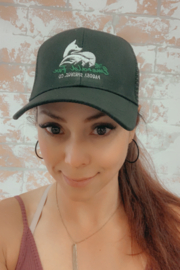 The Emerald Fox Boutique The Emerald Fox Trucker Hat - Front cropped