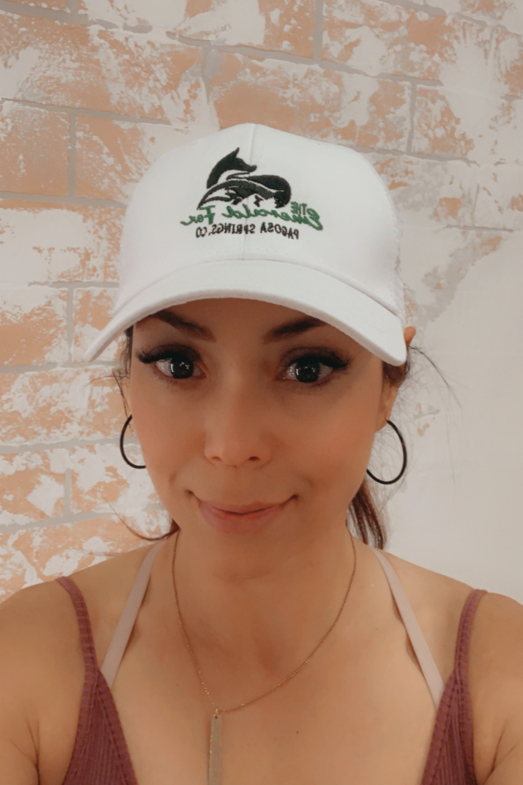 The Emerald Fox Boutique The Emerald Fox Trucker Hat - Front Cropped Image