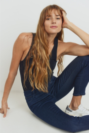 Just Black Denim The Essential High Rise Skinny Jeans - Front full body