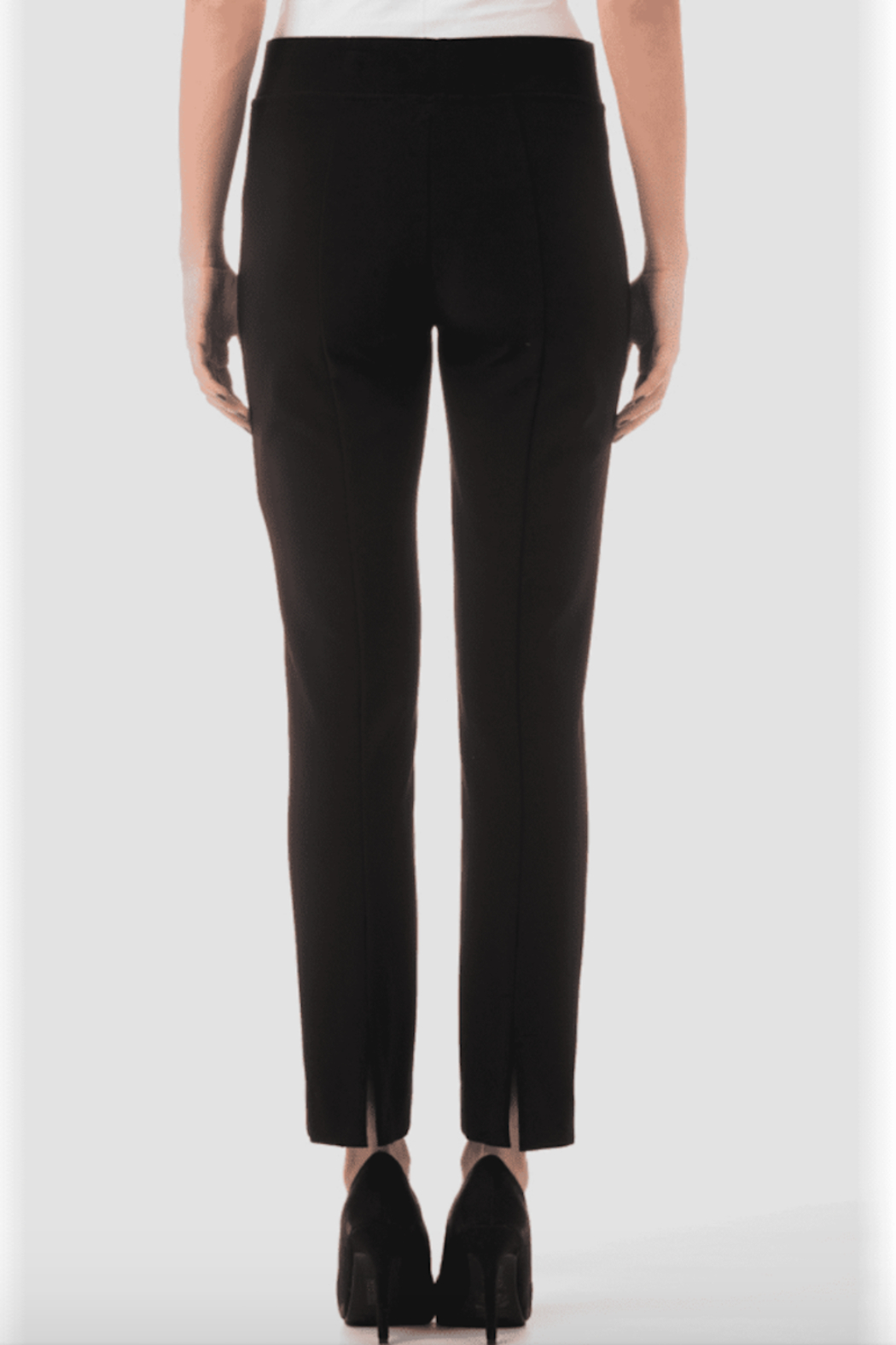Joseph Ribkoff  The Essential Pant, Black, Navy, & White - Front Full Image