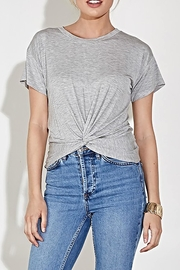 blue blush The Eve Tee - Front cropped