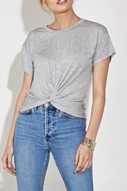 blue blush The Eve Tee - Front full body
