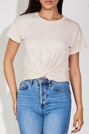 blue blush The Eve Tee - Back cropped