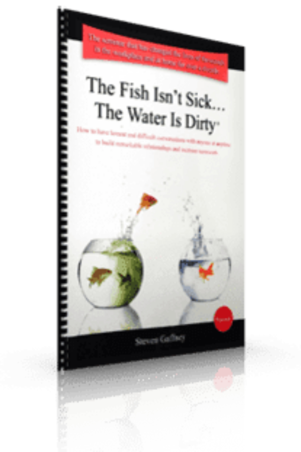 Steven Gaffney Company The Fish Isn't Sick...The Water Is Dirty Workbook - Main Image