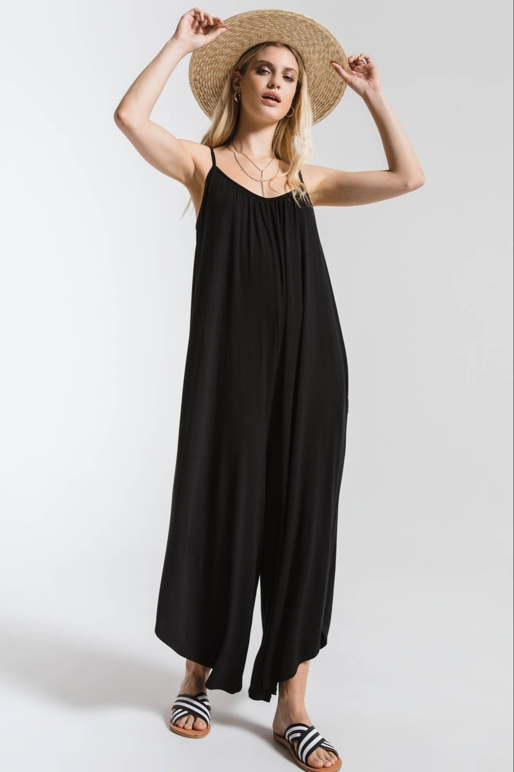 z supply The Flared Jumpsuit - Main Image