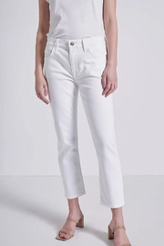 Current Elliot  The Fling Clean Straight Jeans - Product Mini Image