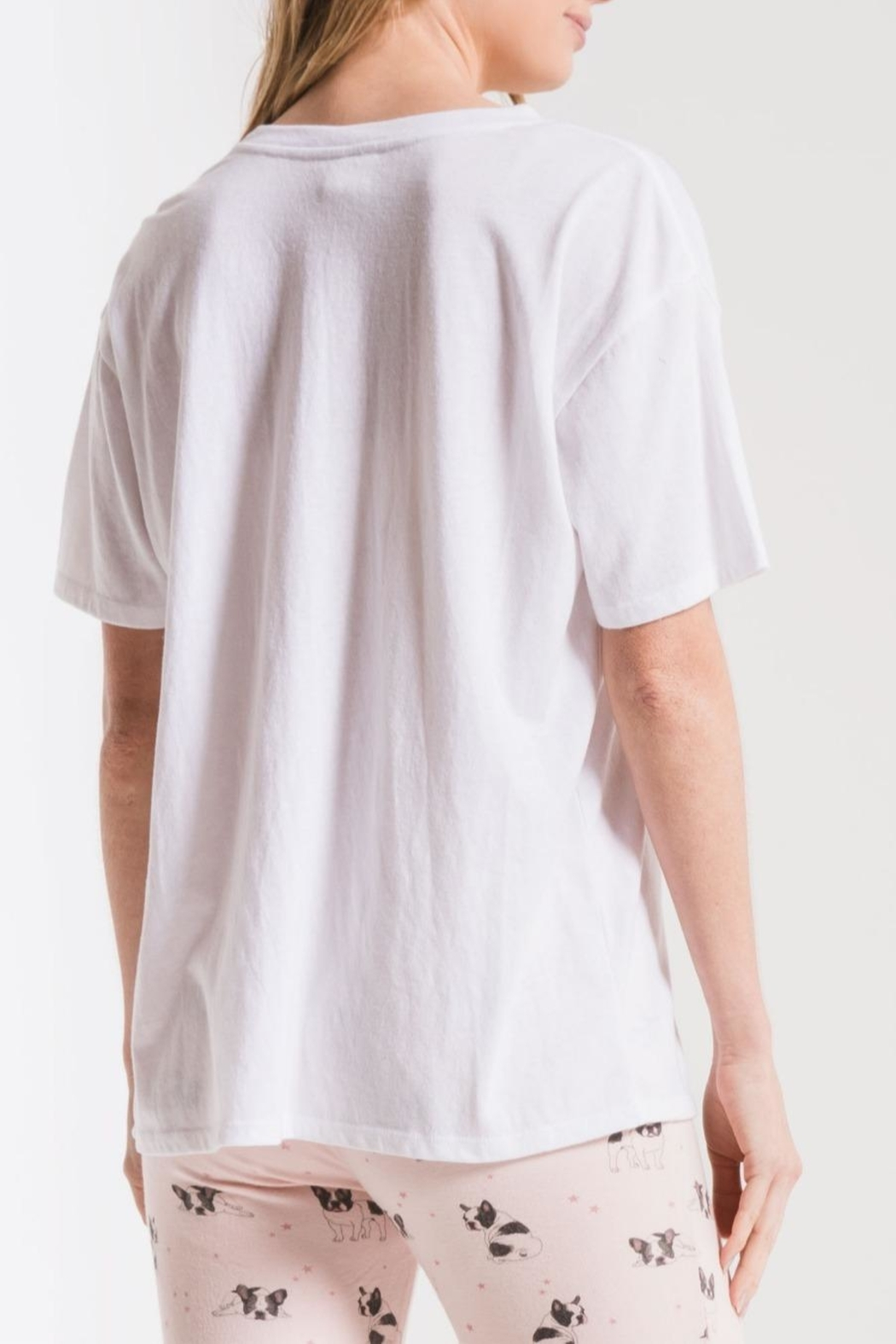 z supply The Frenchie Tee - Front Full Image