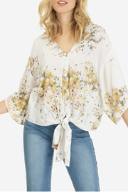 Tribal The front v neck blouse - Front cropped