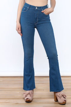Mother The Funday Flare Blue Jean - Product List Image