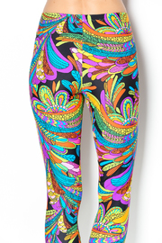 The Funny Bunnies Multicolor Leggings - Side cropped
