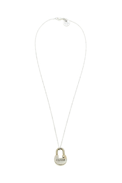 The Giving Keys Dainty Lock Necklace - Product List Image