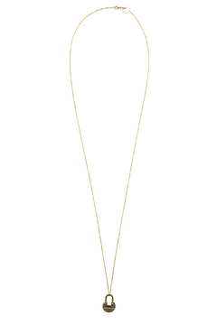 The Giving Keys Dainty XL Lock Necklace - Product List Image