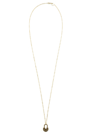 The Giving Keys Dainty XL Lock Necklace - Product Mini Image