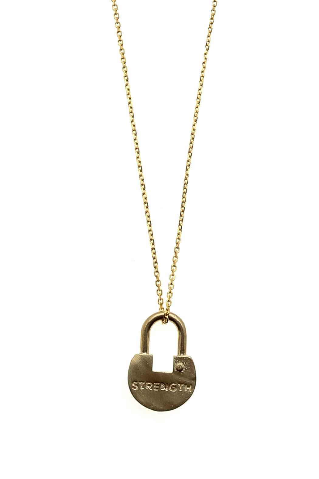 The giving keys dainty xl lock necklace from new jersey by the giving keys dainty xl lock necklace front full image aloadofball Gallery
