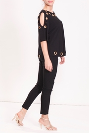 Talk of the Walk The Grommet Top - Side cropped