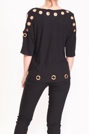 Talk of the Walk The Grommet Top - Back cropped