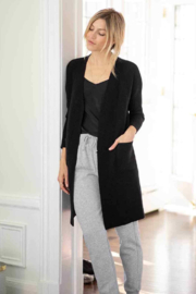 Mer Sea & Co The Hampton Cashmere Duster - Back cropped