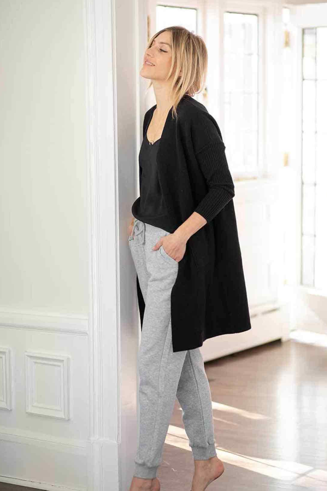 Mer Sea & Co The Hampton Cashmere Duster - Front Full Image
