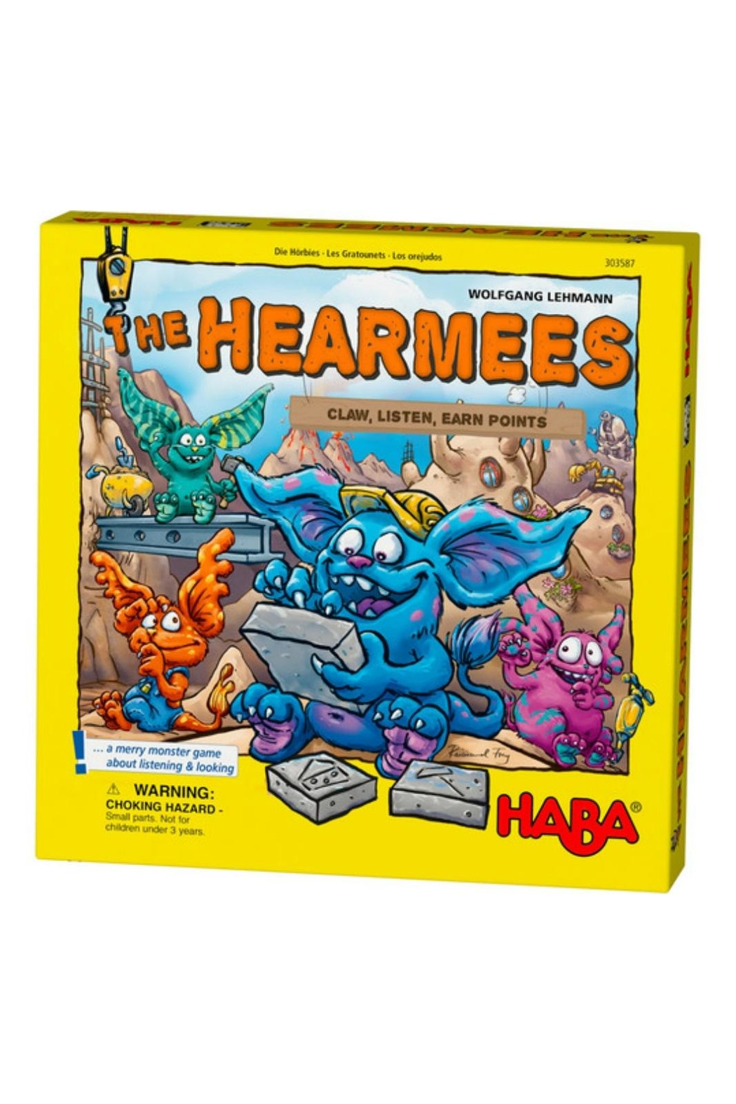 HABA USA The Hearmees Game - Front Cropped Image