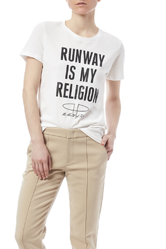 The House of Perna Runway Graphic Tee - Product List Image