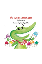 The Birds Nest THE HUNGRY LITTLE GATOR BOOK - Product Mini Image