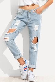 Wishlist The Jean Distressed - Product Mini Image