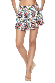 The JetSet Diaries Bella Floral Shorts - Product Mini Image