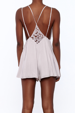 Shoptiques Product: Sexy Lilac Sleeveless Romper