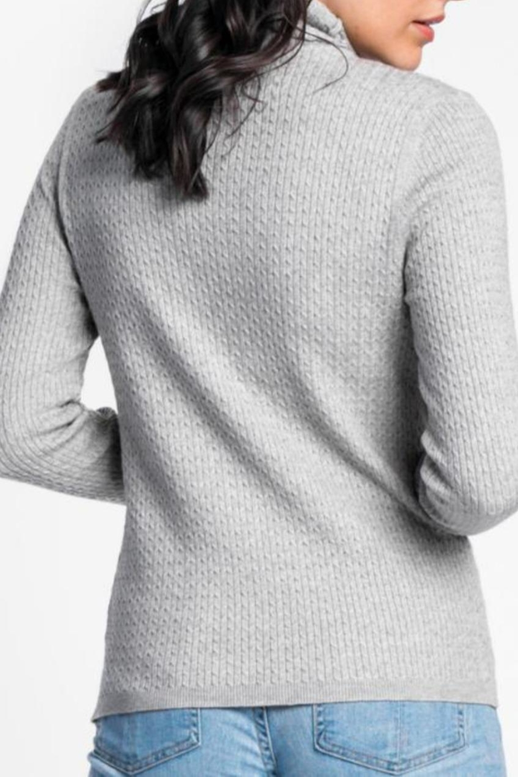 Pink Martini The Kat Sweater - Side Cropped Image