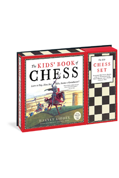 Workman Publishing The Kid's Book of Chess and Chess Set - Alternate List Image