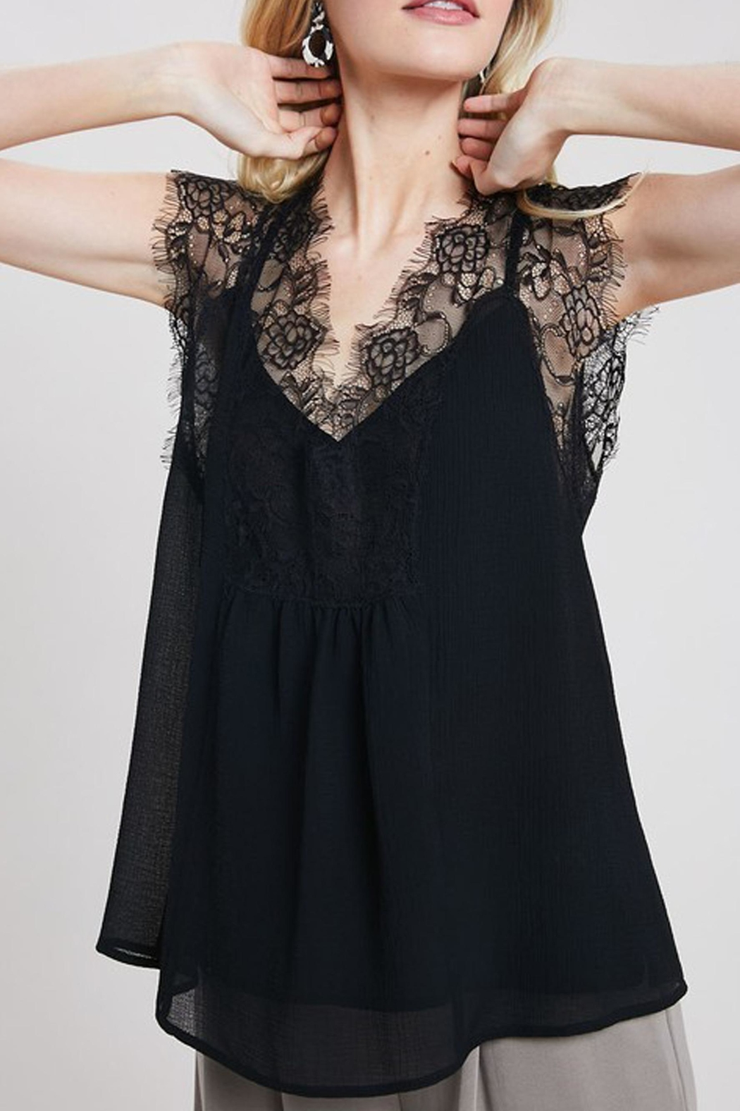 Wishlist The Lace Cami - Front Full Image