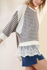 Umgee USA The Lacey Tunic - Front full body
