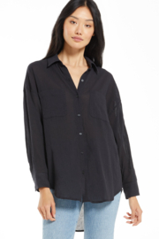 z supply The Lalo Button Up Top - Product Mini Image