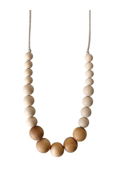 Chewable Charm The Landon - Cream Teething Necklace - Product List Image