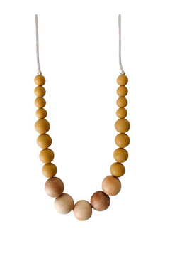 Chewable Charm The Landon - Mustard Yellow Teething Necklace - Product List Image