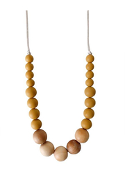 Chewable Charm The Landon - Mustard Yellow Teething Necklace - Product Mini Image