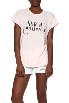 Shoptiques Product: Amour Champagne Tee
