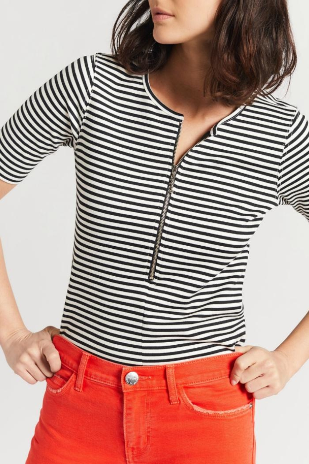 Current Elliott The Leighton Top - Front Cropped Image
