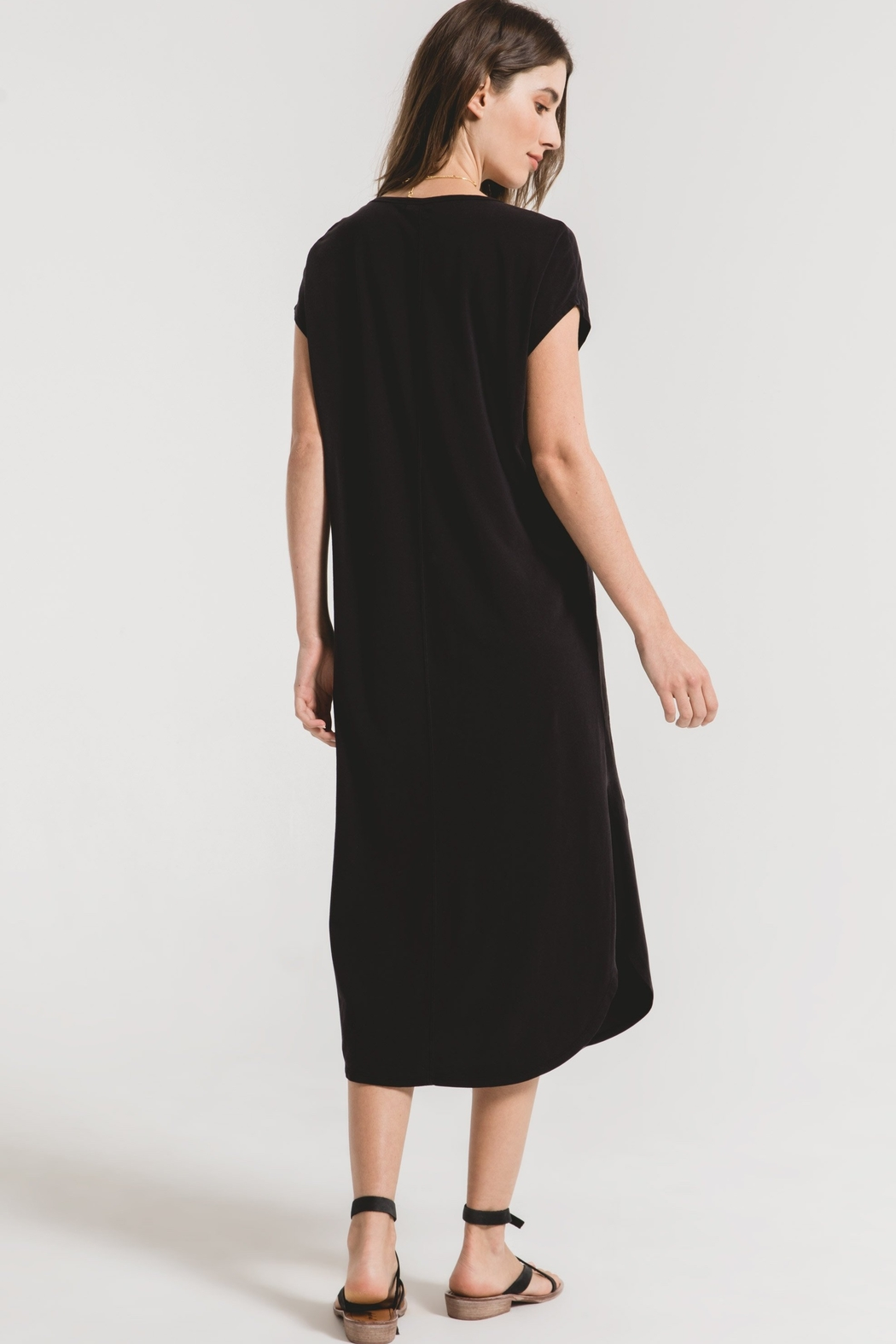 z supply The Leira Midi Dress - Side Cropped Image